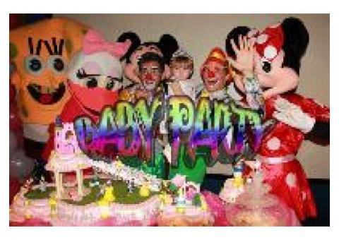 Compañía BABY PARTY. La comodidad de su fiesta..