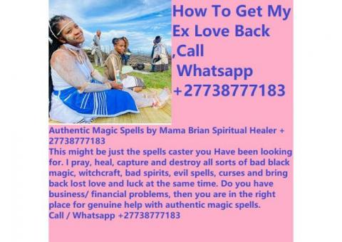 How To Get My Ex Love Back ,+27738777183 Mama Brian