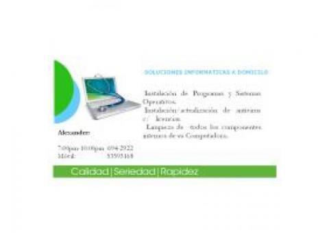 Instalación de Programas y Sistemas Operativos...