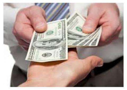 oferta de dinero para personas necesitadas