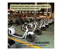 Citycoco 1000w 12Ah Lithium Battery Electric Harley Scooter Big Tyres Adult Bike