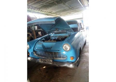 VENDO Opel Record 1958 de 2 puertas en 16000 CUC. Fernando. Tel. 53458303