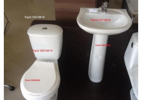 Taza Tanque y lavamanos con pedestal o sobre encimera 55516619