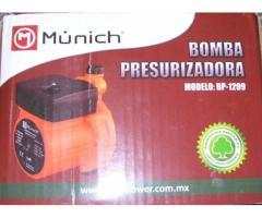 Las nuevas Bombas presurizadora de agua marca Munich en 100CUC +garantía