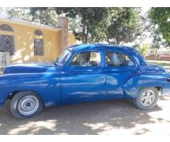 Chevrolet 1949 sedan 4 puertas.