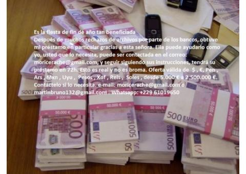 Oferta de préstamo de emergencia
