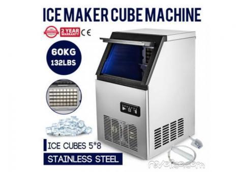 Hielera profesional de hacer cubitos de hielo 60 kg / 24Horas