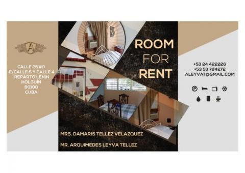 Rento Apartamento Anexo [Habitación Independiente con Garaje en Holguin (Holguín)]