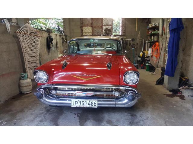 Venta Chevrolet 1957,sin columna