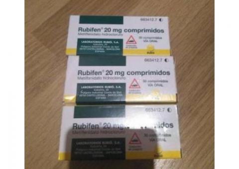 Rubifen, Ritalin, Concerta, Adderall, sibutramine, Dysport, Botox, Restylane, Surgiderm etc.