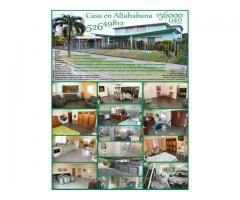 Casa en Reparto Altahabana 156000USD. 52649812