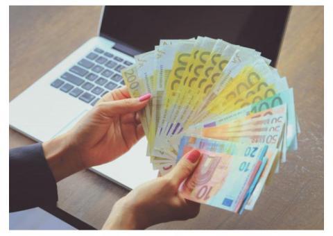 oferta de préstamo entre privado y serio