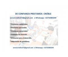 Completa tu proyecto con un préstamo +33756985044