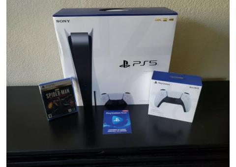 Sony Playstataion 5 Nueva edición con 10 juegos