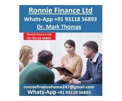 Ayuda con préstamos comerciales y financieros