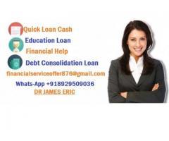 ¿Necesitas un préstamo? ¿Está buscando Finanzas?