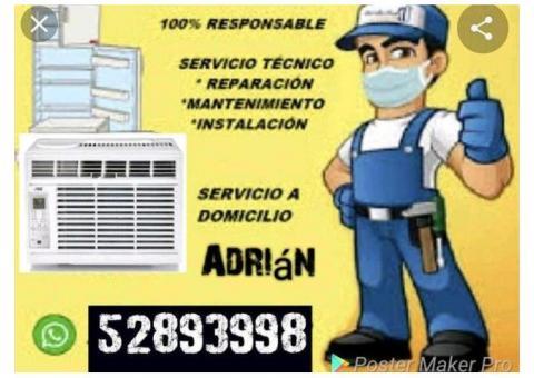 +53 5 2893998 Se Reparan y Se Montan Split y Aires Acondicionado